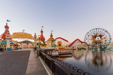 A Touch of Disney, a new, limited-time ticketed experience brings back some of the sights, sounds and flavors of the Disneyland Resort to Disney California Adventure Park beginning March 18, 2021. A Touch of Disney offers some of the world-famous food and drinks from around the Disneyland Resort, like churros, DOLE Whips¨, the mouth-watering Monte Cristo sandwich and more, plus a chance to see Disney characters, shop for the latest Disney merchandise and pop in at unique photo locations. The experience is underscored by a specially curated soundtrack of reimagined Disney songs broadcast throughout the park. (Joshua Sudock/Disneyland Resort)