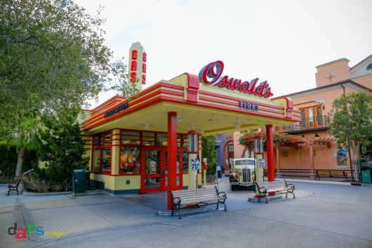 Oswald's Tires on Buena Vista Street