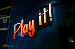 Who Wants to Be a Millionaire – Play It! sign from a day long gone by at Disney California Adventure