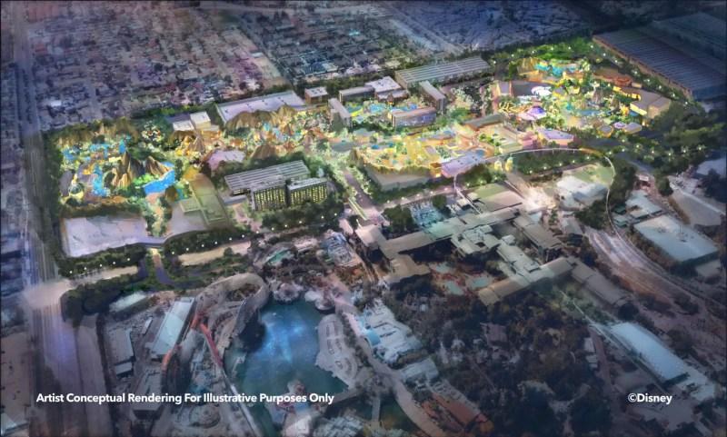 Disneyland Expansion