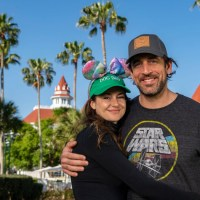Aaron Rodgers & Shailene Woodley Share Visit to Walt Disney World