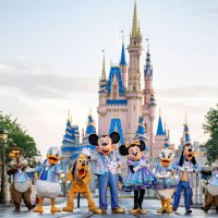 Mickey, Minnie, and Friends to Show off New EARidescent Outfits in Daily Cavalcade for Walt Disney World's 50th-Anniversary