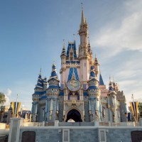 Cinderella Castle EARidescent Makeover Completed Ahead of Walt Disney World's 50th-Anniversary Celebration