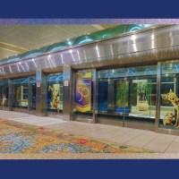 Orlando International Airport Gets Decorated for Walt Disney World Resort 50th Anniversary Celebration