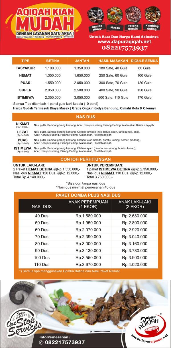 Alamat Aqiqah Bandung - Dapur Aqiqah