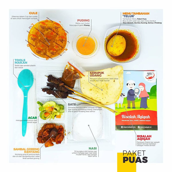 Paket Aqiqah Bandung 2021 - Dapur Aqiqah