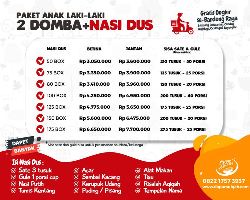 paket aqiqah murah di Bandung