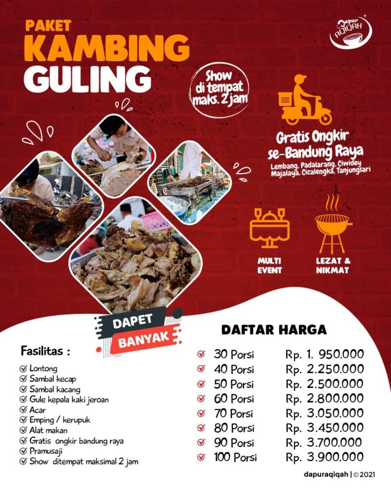 Harga kambing guling Bandung Dapur Aqiqah
