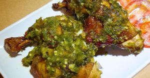 Resep Ayam Goreng Sambal Ijo