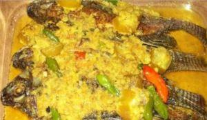 Resep Ikan Mujair Bumbu Kuning