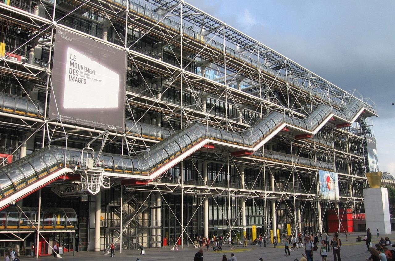 Renzo Piano Centre Pompidou