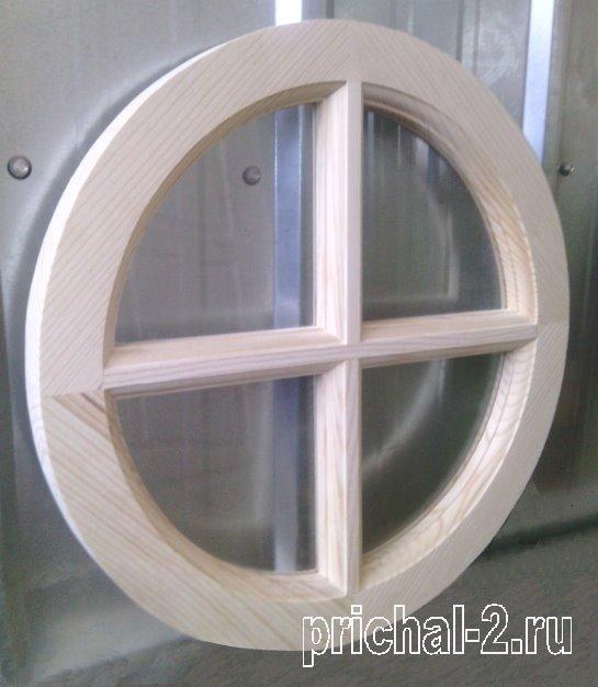 Круглые окна для остекления веранд