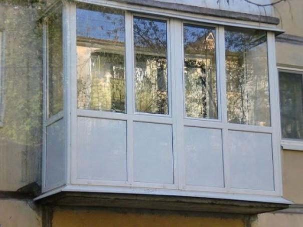 Отделка балконов и лоджий панелями ПВХ