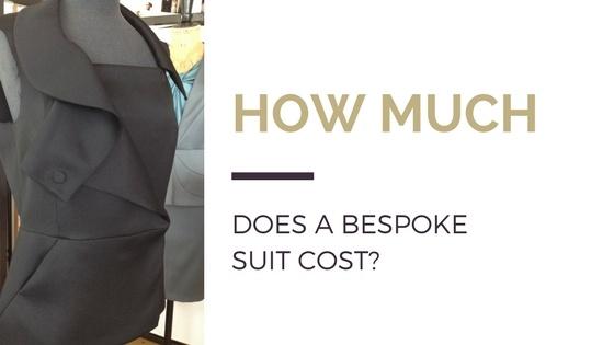 Blog title next to image of black women's blazer on tailor's mannequin
