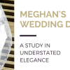 Blog title image: Meghan's wedding dress - a study in understated elegance