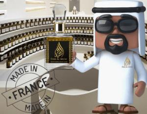 Parfums fabriquée en France