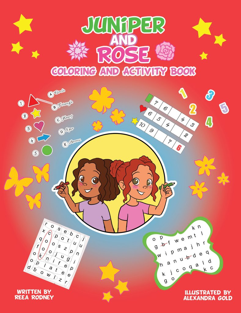 J and R Coloring and Activity Book TWO