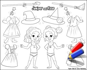 juniper-and-rose-paper-dolls-black-and-white-with-pencils