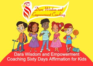 $5.99 Sixty Days Affirmation for Kids
