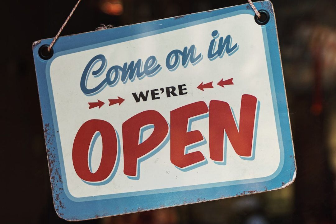 We are Open