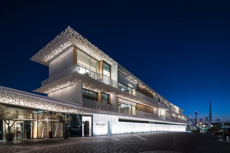 Bvlgari Yacht Club UAE Architectural