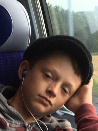 Luke, sleepy