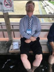 World's longest foot spa