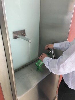 EAWAG has fizzy water dispensers!