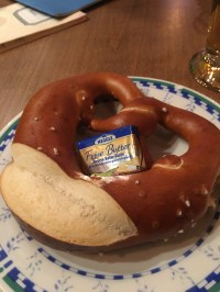 Happy Hour pretzel