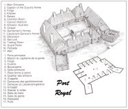 Map of Port-Royal