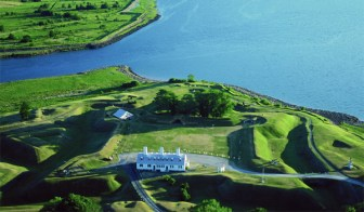 Star-shaped Fort Anne