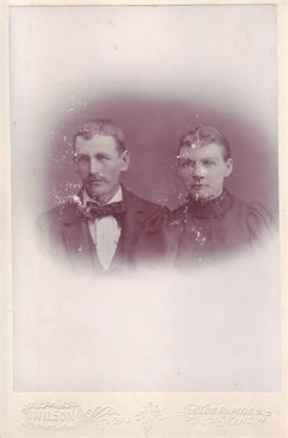 Frank and Matilda 1896