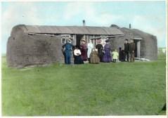 Saskatchewan sod house