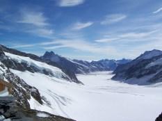 Glacier at rest
