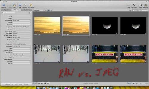 Digital Photography Sessions – Episode 003 – RAW vs. JPEG