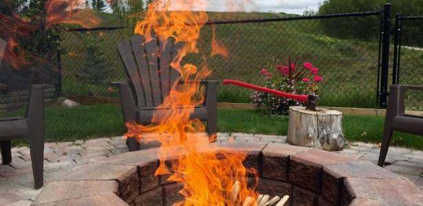 Late summer fire