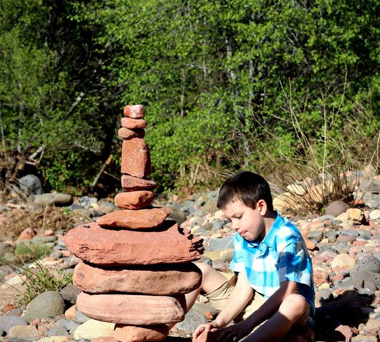 Stacking Stones {A Day in Sedona…with Video!}