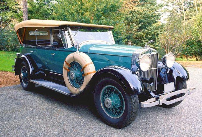 Lincoln Torpedo 1927. Une version