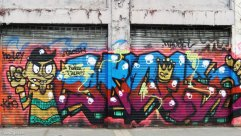 Santiago graffiti: after a while you recognise the artist's style