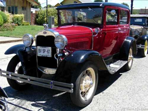 A beautiful Ford Model A
