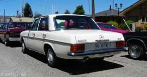 Mercedes W114 240D, already with the 3 liter Diesel engine