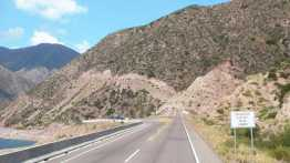 Planning Argentina: full bitumen and lines to the abrupt end of road