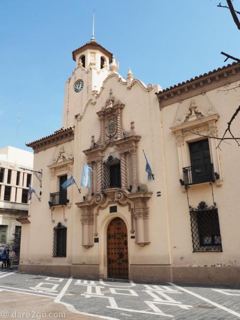 Cordoba: the old Jesuit university, now Colegio Nacional de Montserrat