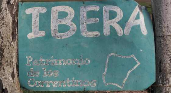 Iberá: Patrimonio de los Correntinos (corrientes means flowing land)