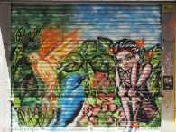 Street Art Calle Libertad: tropical jungle in the city