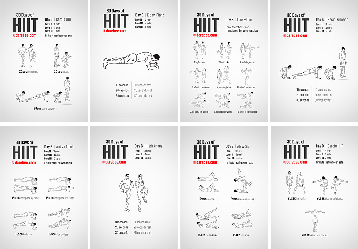 Hiit Workout Program
