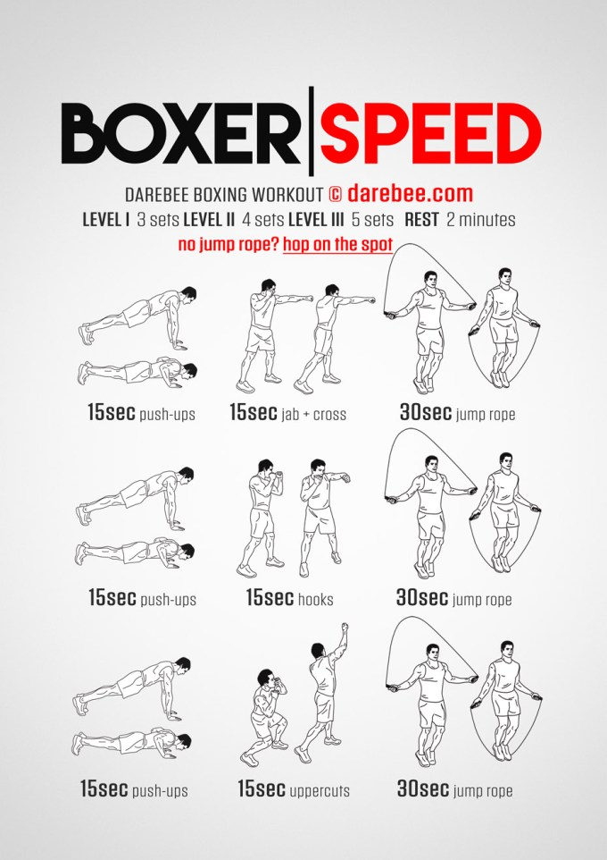 Gym Training Program For Boxers | Gymtutor co