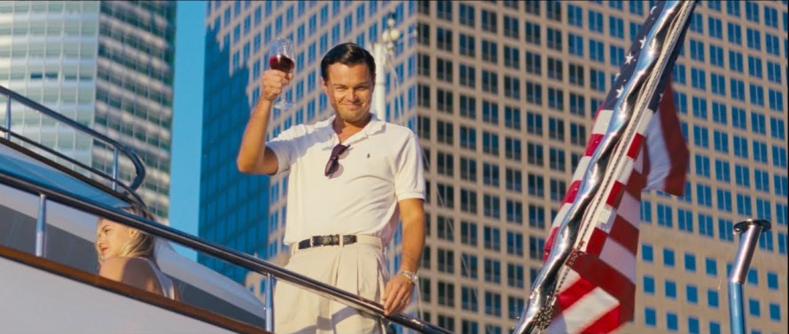 the wolf of wall street leonardo dicaprio