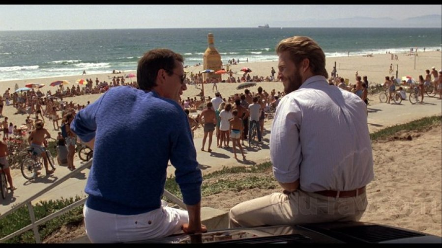 Jeff Bridges and James Woods in Against All Odds