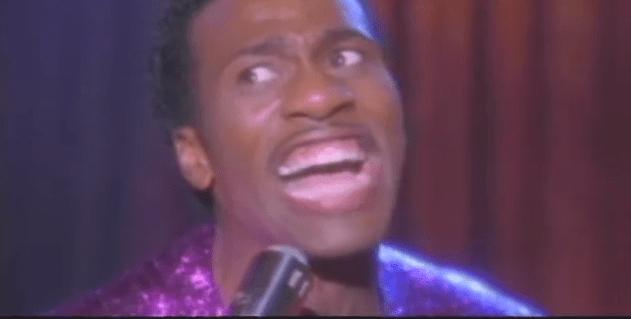 Leon as Little Richard (2000)